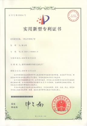 安全型离子管专利